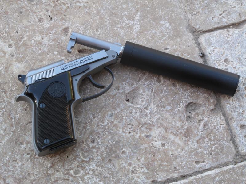 Beretta 21A Threaded Barrel