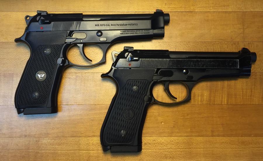 Langdon Tactical LTT Beretta 92 Grips