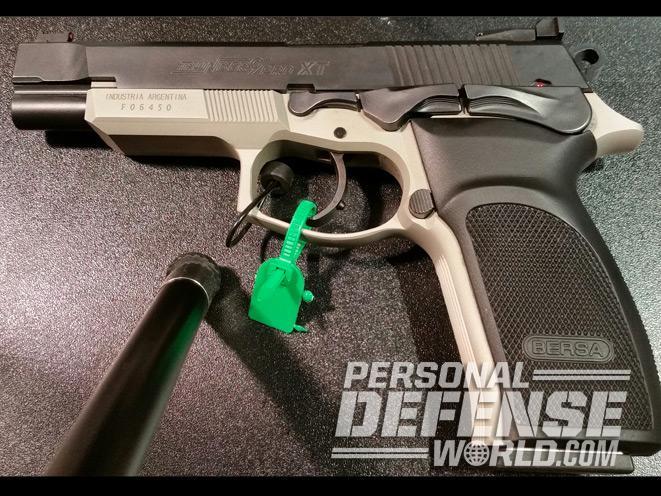 Bersa Thunder Pro XT 9mm, 4 25