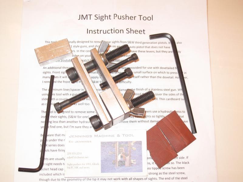 GONE! JMT Sight Pusher Tool