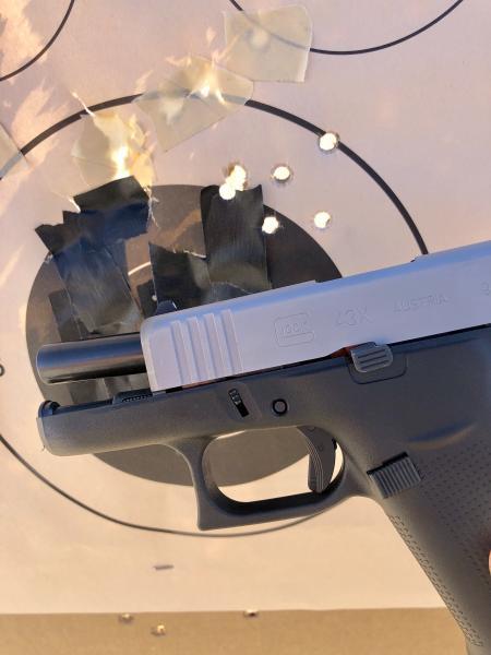 Glock 43X/48 Range reports