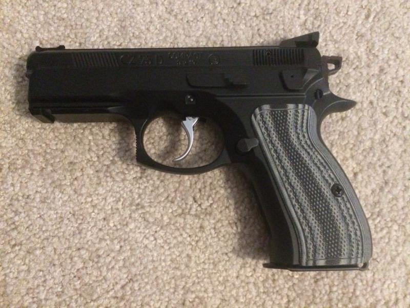 Picked Up A CZ 75 D Compact (PCR)