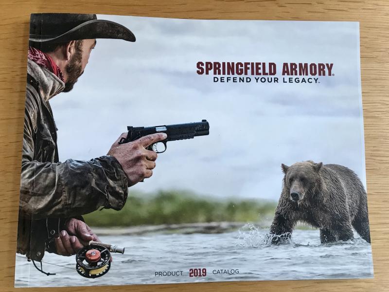 Springfield 2019 catalog