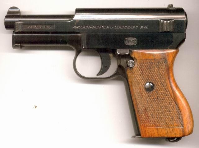 Mauser 7 65 Pistol Auto