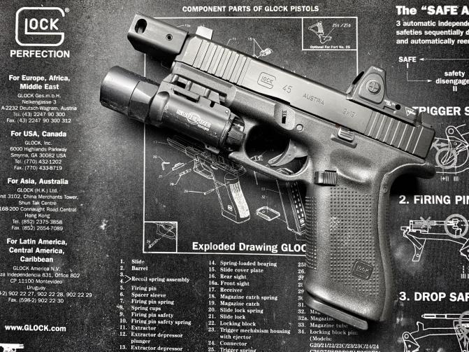 Différence Glock 45 / Glock 19x ou 19 Attachment