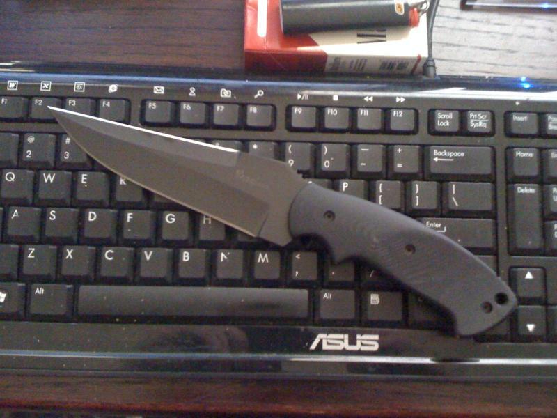 Name:  Crawford Fixed Kasper, 5 inch blade, black.jpg Views: 2783 Size:  65.4 KB