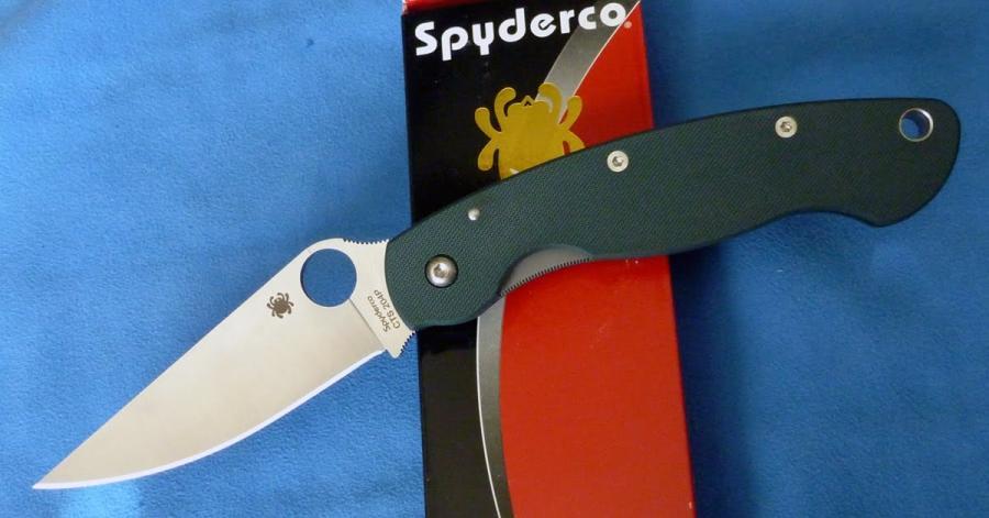 Name:  Spyderco-Military-green 204p.jpg Views: 1002 Size:  49.7 KB